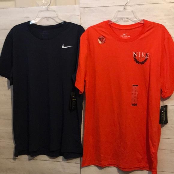2 MENS Nike tops